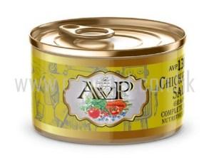 AVP 無穀物雞肉三文魚配方 狗罐頭(幼犬) 150g
