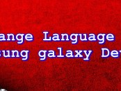 Change language on Samsung Galaxy J7 (2016) with Pictures