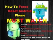 force reset Android Phone