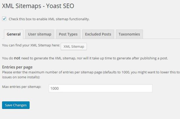 How to fix site XML map
