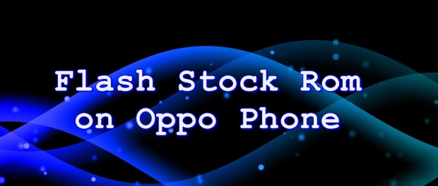 FlashStock Rom onOppo R2001 Yoyo