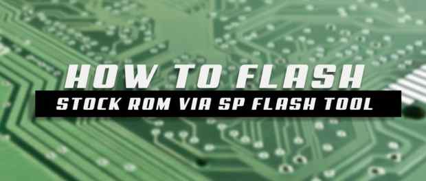 How to Flash Stock Rom on Fotola G3