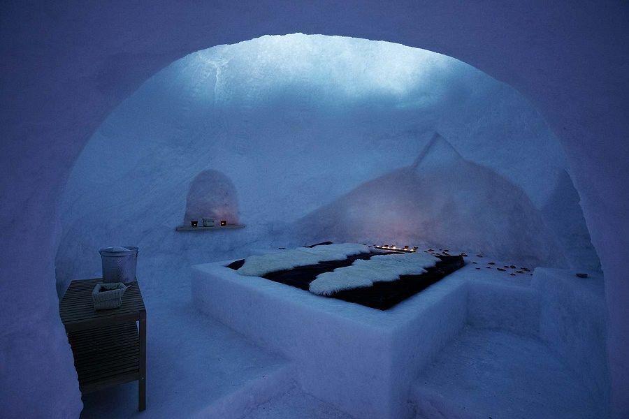 Benessere tra i ghiacci idea regalo incredibile notte
