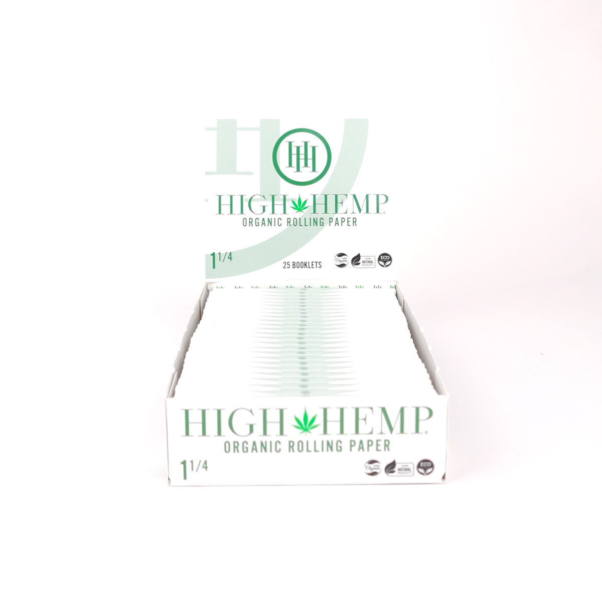High Hemp 1 1 4 Rolling Papers Box Of 25 Rp
