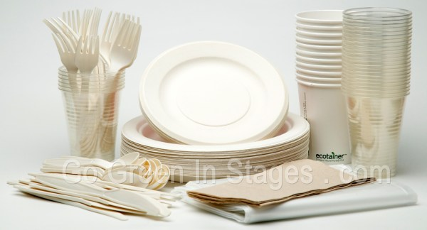 Most of bio plastic is made from vegetable fats and oils