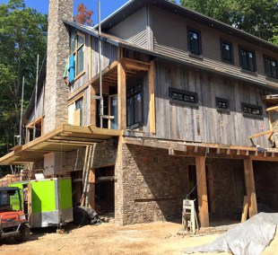 One of the many homes that will benefit from spray foam insulation.