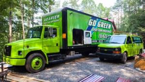 Go Green Spray Foam Trucks