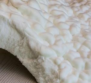 Go Green Spray Foam Close Up