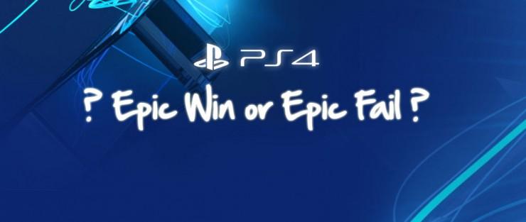 PS4 pénurie rupture epic win epic fail
