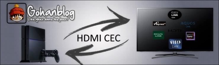 PS4 HDMI CEC tutoriel