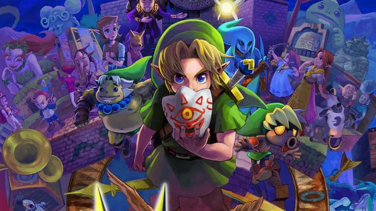 Test The Legend of Zelda Majoras Mask 3D