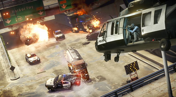 test PS4 battlefield hardline