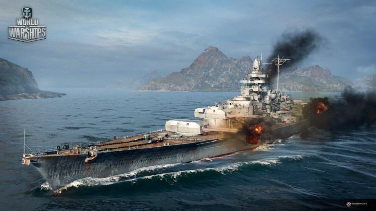 Battleship en pleine action
