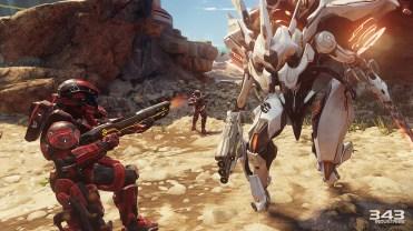 Halo 5 Guardians xbox one test