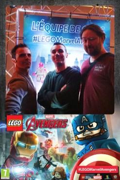 photo cabine Lego Avengers