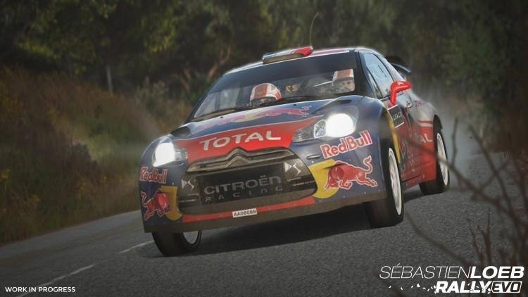 test Sébastien Loeb Rally Evo