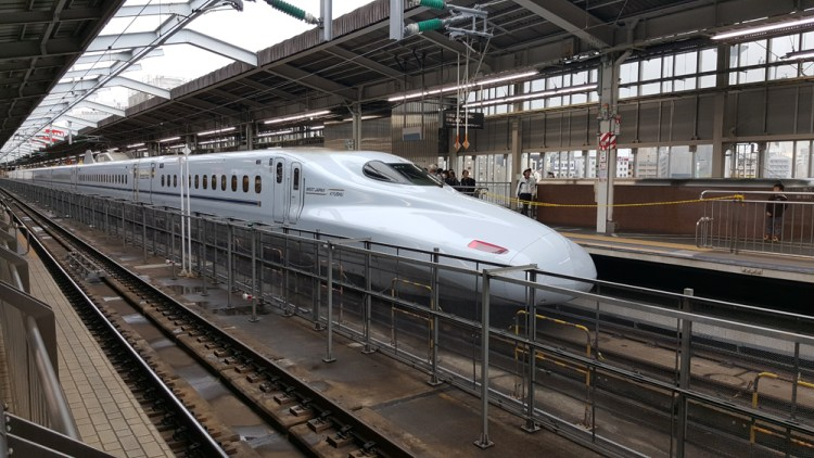 shinkansen train japon