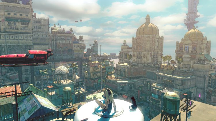 gravity rush 2 PS4 test