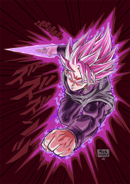 01_origamigne_Black_goku_rose