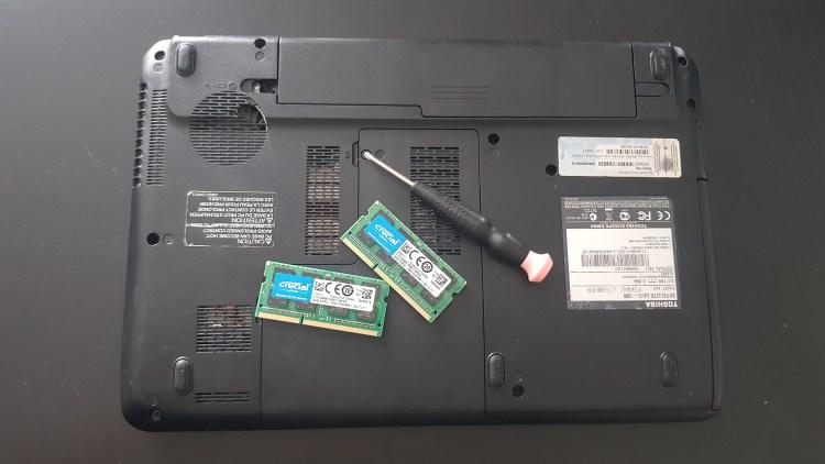 Installer de la RAM