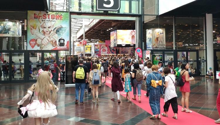 Japan Expo Les Stands : Retour sur la japan expo 2018 !
