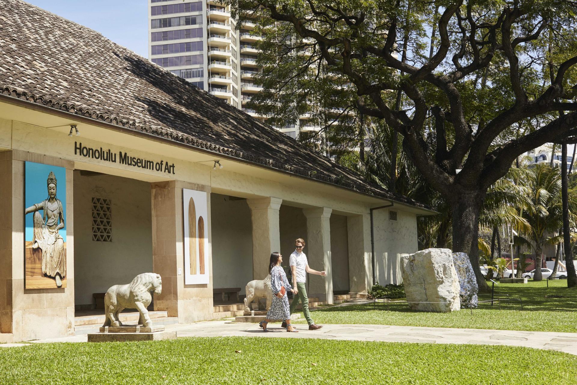 Honolulu Museum Of Art & Shangri La Hawaii