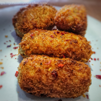Potato Croquettes with cheese