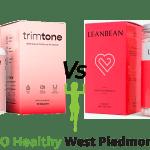 Trimtone vs Leanbean Go Healthy West Piedmont