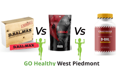 DBal Max vs DBal Vs DBulk Go Healthy West Piedmont Comparison