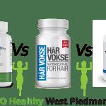 Har Vokse vs Profollica vs Procerin Go Healthy West Piedmont Review