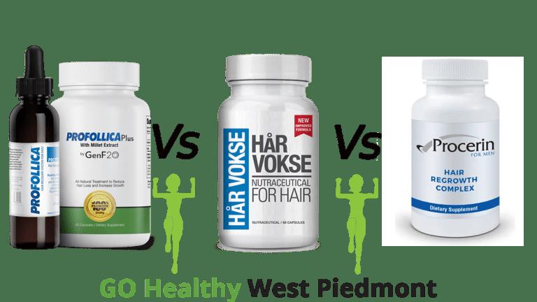 Har Vokse vs Profollica vs Procerin Comparison guide by GHWP Staff