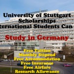 University of Stuttgart Scholarships