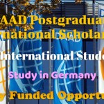 DAAD Postgraduate International Scholarship