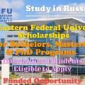 Far Eastern Federal University Scholarships