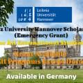 Leibniz University Hannover Scholarships