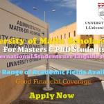 University of Malta Scholarships