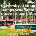 University of Miami Stamps Scholarship