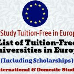 Tuition Free Universities in Europe