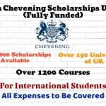 British Chevening Scholarship UK