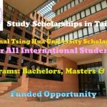 National Tsing Hua University Scholarships
