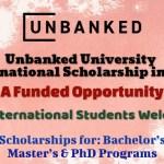 Unbanked University International Scholarship