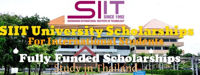 SIIT University Scholarship