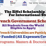Eiffel French Government Scholarship