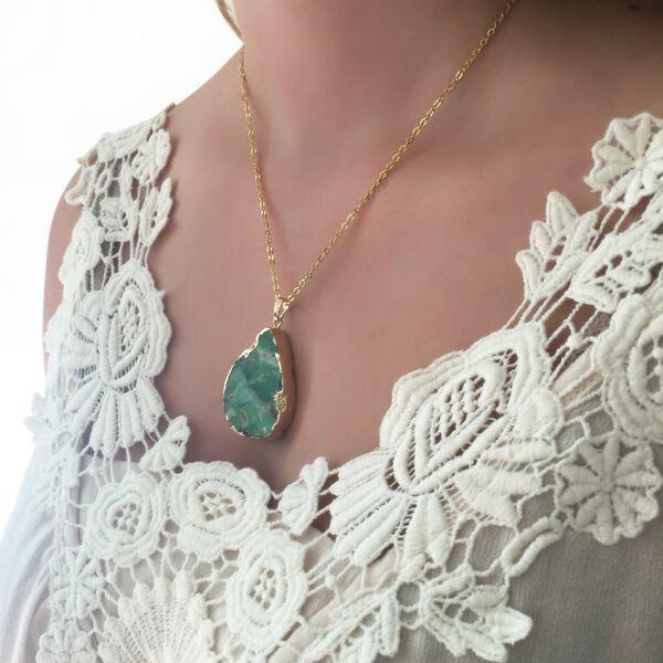 Jade necklace by Presh