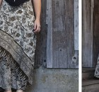 Wrap Me Up In Silk Maxi Skirt