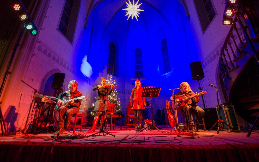 Buckley's Chance – Acoustic World Music in der Friedenskirche Leipzig