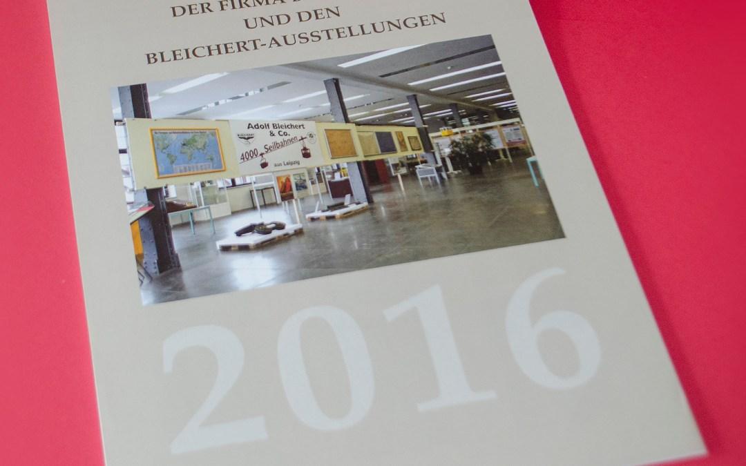 Neuer Bleichert-Kalender für 2016 erschienen