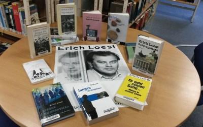 """Neues aus der Bibliothek Gohlis """"Erich Loest"""""""