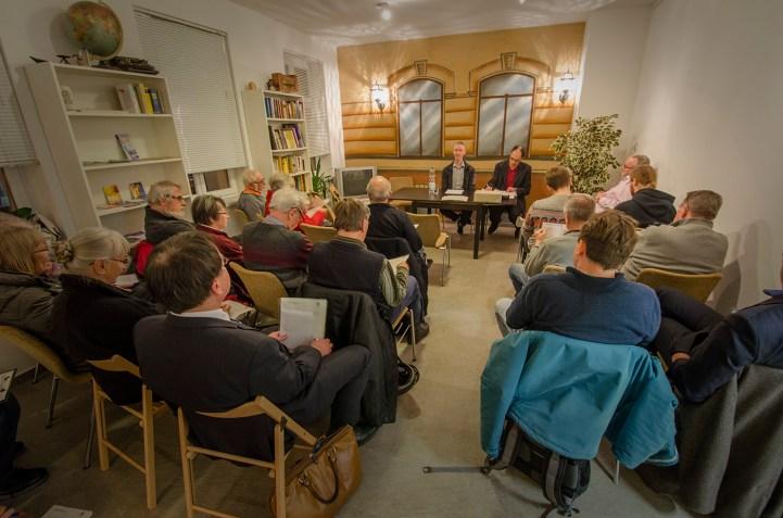 Ordentliche Mitgliederversmmlung des Bürgervereins Gohlis e. V. am 28. 11.2016; Foto: Andreas Reichelt