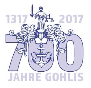 Logo 700 Jahre Gohlis; Reichelt Kommunikationsberatung